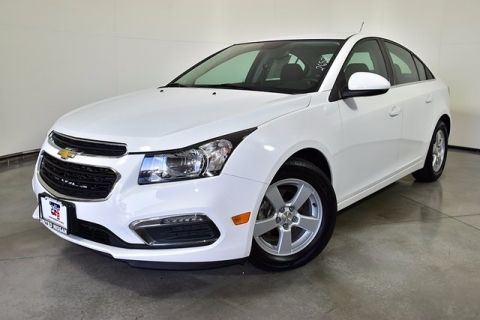 Pre-Owned 2015 Chevrolet Cruze 1LT FWD 4D Sedan