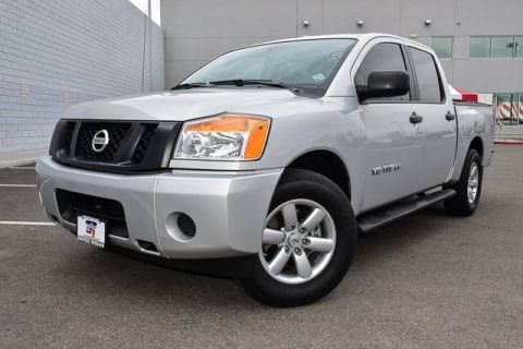 Pre-Owned 2015 Nissan Titan S
