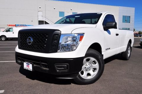 New 2017 Nissan Titan S RWD Long Bed