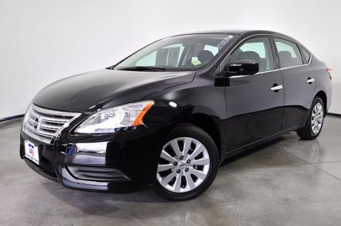 Certified Pre-Owned 2015 Nissan Sentra S FWD 4D Sedan