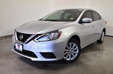 New 2018 Nissan Sentra S FWD 4D Sedan