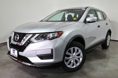 New 2018 Nissan Rogue S FWD 4D Sport Utility