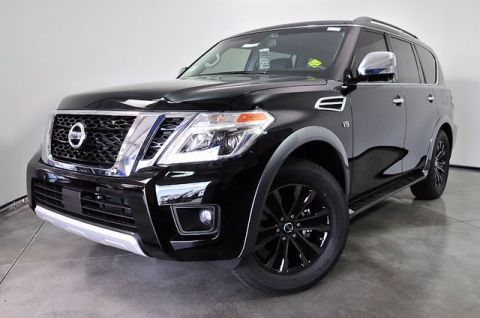 New 2017 Nissan Armada Platinum With Navigation & 4WD