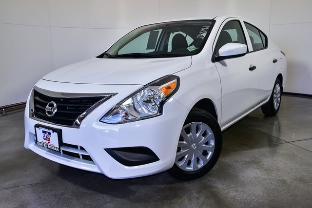 certified pre-owned 2017 nissan versa 1.6 s 4d sedan in las vegas